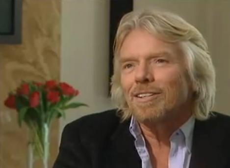 Richard-Brandson Imprenditore di successo